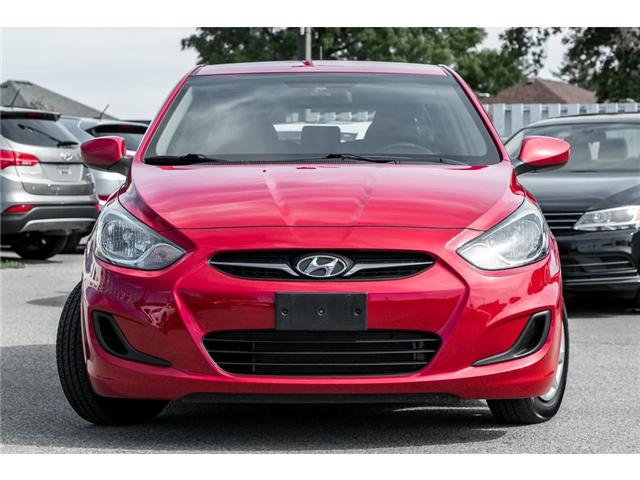 2012 Hyundai Accent  (Stk: H609404T) in Mississauga - Image 2 of 20