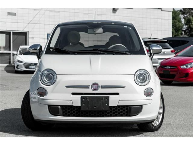2012 Fiat 500 Pop (Stk: H7597PT) in Mississauga - Image 2 of 19