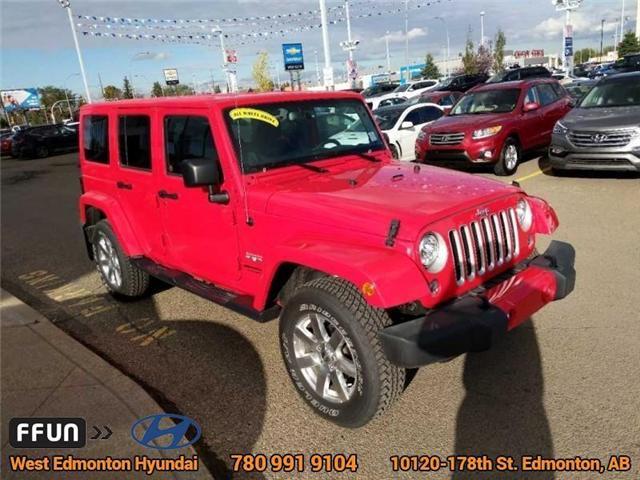2017 Jeep Wrangler Unlimited Sahara (Stk: P0646) in Edmonton - Image 4 of 20