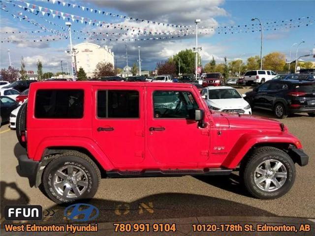 2017 Jeep Wrangler Unlimited Sahara (Stk: P0646) in Edmonton - Image 5 of 20