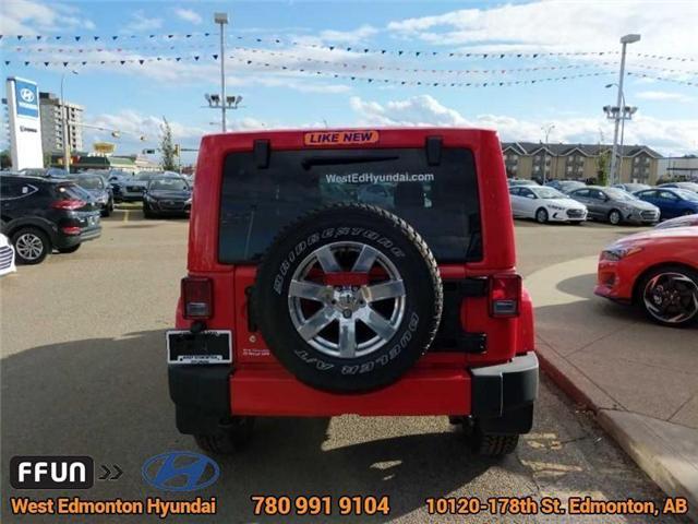2017 Jeep Wrangler Unlimited Sahara (Stk: P0646) in Edmonton - Image 7 of 20