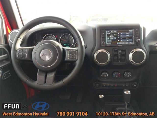 2017 Jeep Wrangler Unlimited Sahara (Stk: P0646) in Edmonton - Image 13 of 20