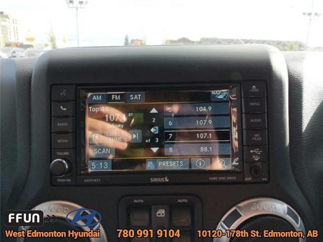 2017 Jeep Wrangler Unlimited Sahara (Stk: P0646) in Edmonton - Image 16 of 20