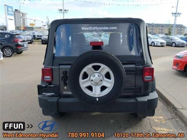 2017 Jeep Wrangler Sport (Stk: P0648) in Edmonton - Image 9 of 21