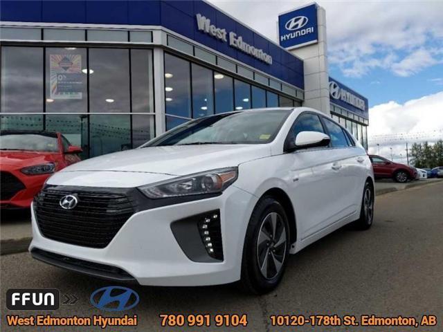 2017 Hyundai Ioniq Hybrid SE (Stk: E4085) in Edmonton - Image 1 of 23