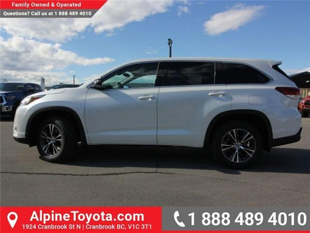 2018 Toyota Highlander LE (Stk: S907391) in Cranbrook - Image 2 of 18