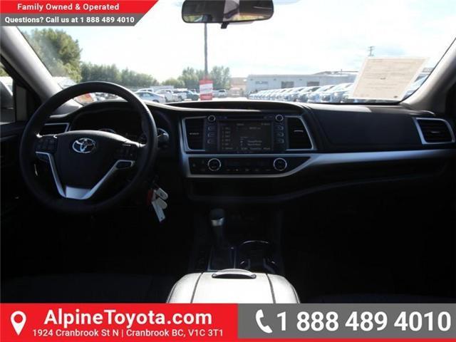 2018 Toyota Highlander LE (Stk: S907391) in Cranbrook - Image 10 of 18