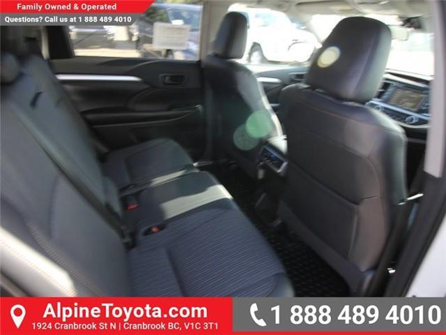 2018 Toyota Highlander LE (Stk: S907391) in Cranbrook - Image 12 of 18