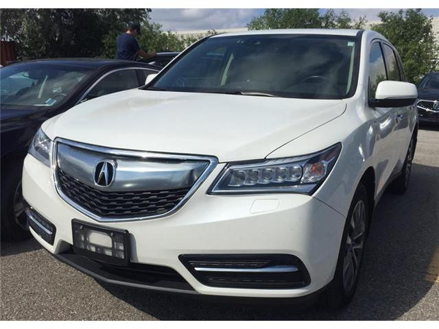 2016 Acura MDX Navigation Package (Stk: 503448P) in Brampton - Image 1 of 3