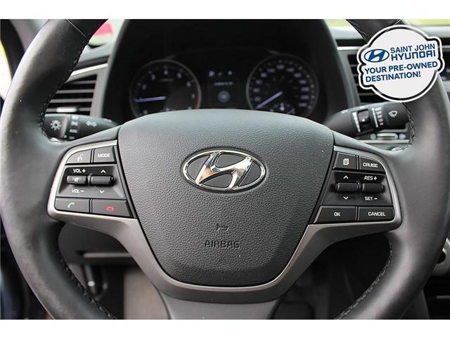 2018 Hyundai Elantra GL SE (Stk: U1893) in Saint John - Image 12 of 21