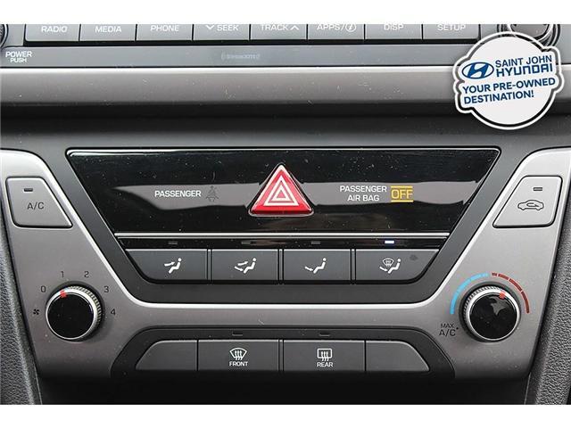 2018 Hyundai Elantra GL SE (Stk: U1896) in Saint John - Image 18 of 22