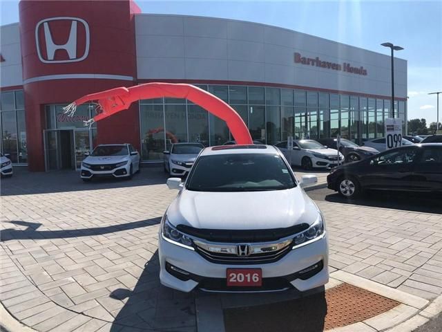 2016 Honda Accord Sport (Stk: B0167) in Nepean - Image 1 of 25
