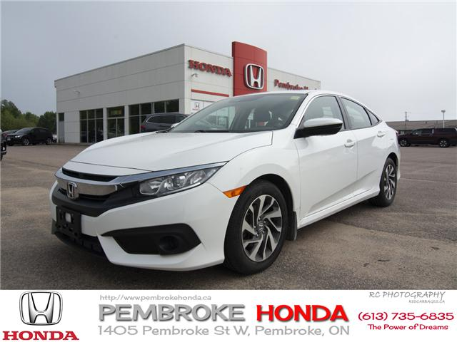 2017 Honda Civic EX (Stk: 17034) in Pembroke - Image 1 of 20