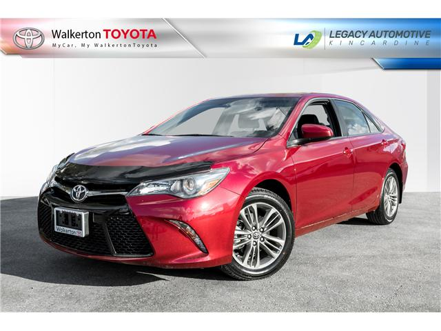 2017 Toyota Camry SE (Stk: P7095) in Walkerton - Image 1 of 17