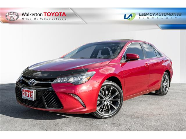 2015 Toyota Camry XSE V6 (Stk: P8160) in Walkerton - Image 1 of 21