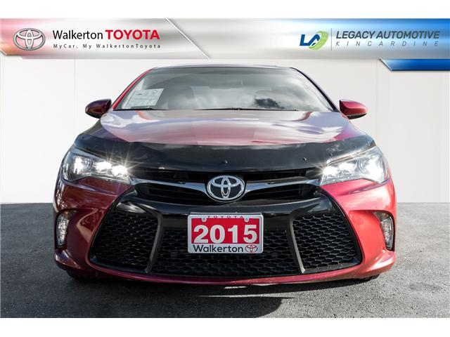 2015 Toyota Camry XSE V6 (Stk: P8160) in Walkerton - Image 2 of 21