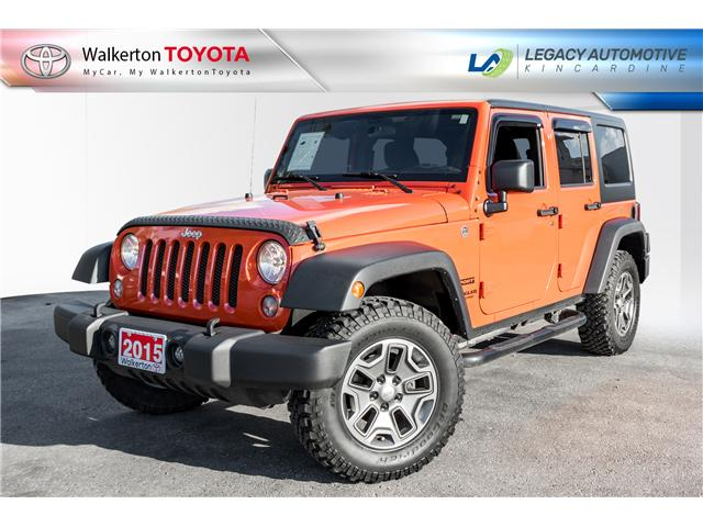 2015 Jeep Wrangler Unlimited Sport (Stk: 18394A) in Walkerton - Image 1 of 16