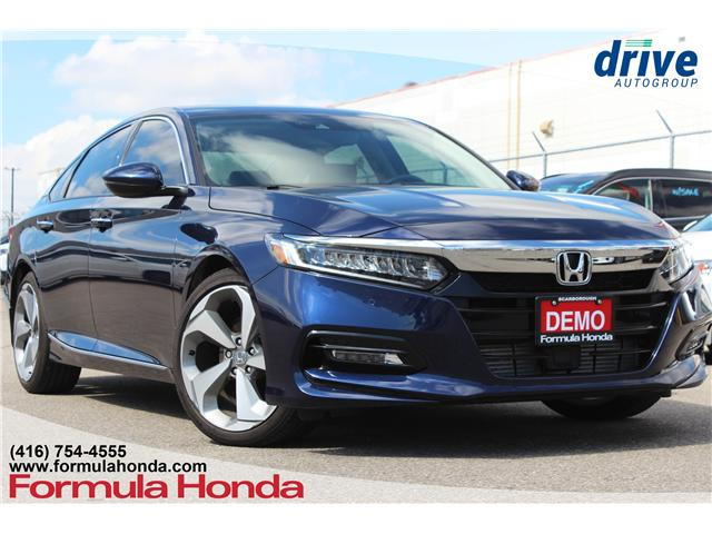 2018 Honda Accord Touring 2.0T (Stk: 18-0475D) in Scarborough - Image 1 of 35