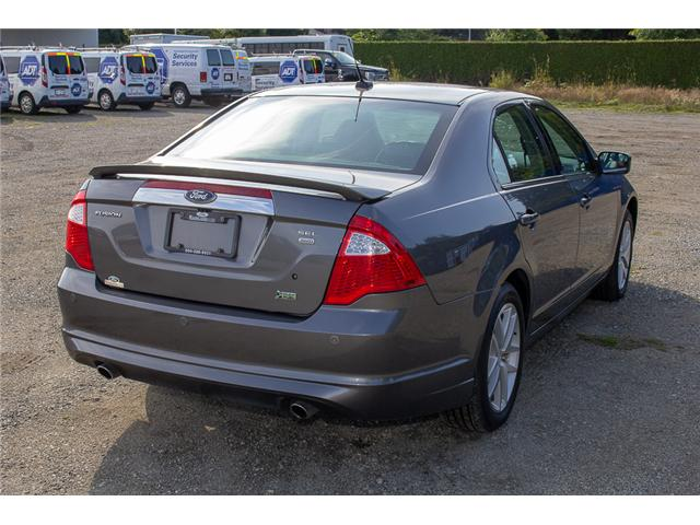 2010 Ford Fusion SEL (Stk: 8ES2923A) in Surrey - Image 7 of 26