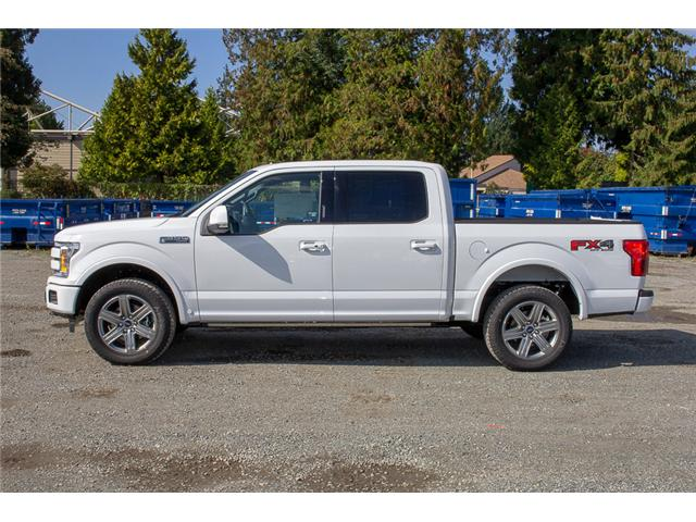 2018 Ford F-150 Lariat (Stk: 8F19308) in Surrey - Image 4 of 28