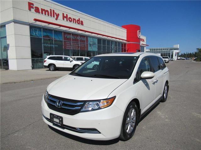 2016 Honda Odyssey EX-L w/RES, LOW KMS!! (Stk: 9505033A) in Brampton - Image 1 of 30