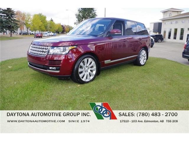 2016 Land Rover Range Rover  (Stk: 8717) in Edmonton - Image 1 of 13