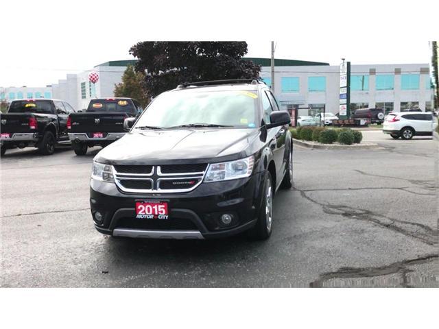 2015 Dodge Journey R/T Bluetooth Heated Leather Backup Cam Navigation (Stk: 181258A) in Windsor - Image 3 of 11