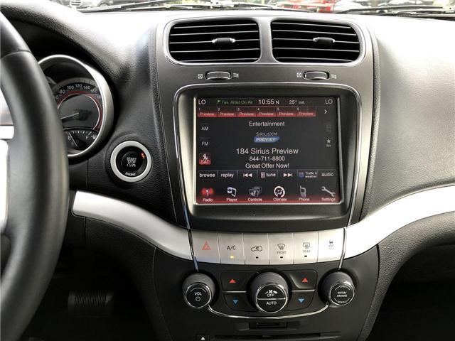 2015 Dodge Journey R/T Bluetooth Heated Leather Backup Cam Navigation (Stk: 181258A) in Windsor - Image 11 of 11