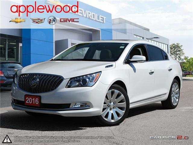 2016 Buick LaCrosse Leather (Stk: 1654TN) in Mississauga - Image 1 of 27