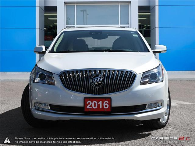 2016 Buick LaCrosse Leather (Stk: 1654TN) in Mississauga - Image 2 of 27