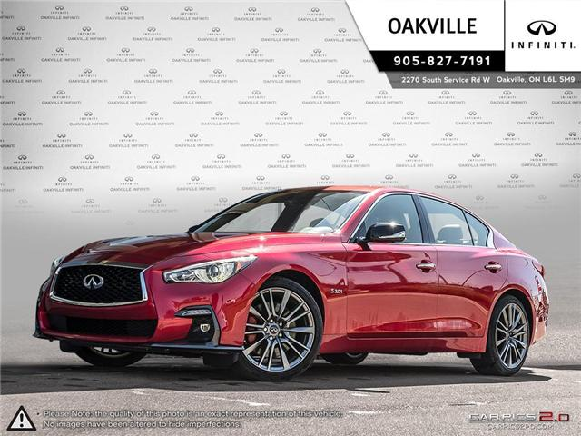 2018 Infiniti Q50 3.0t Red Sport 400 (Stk: Q18091) in Oakville - Image 1 of 21