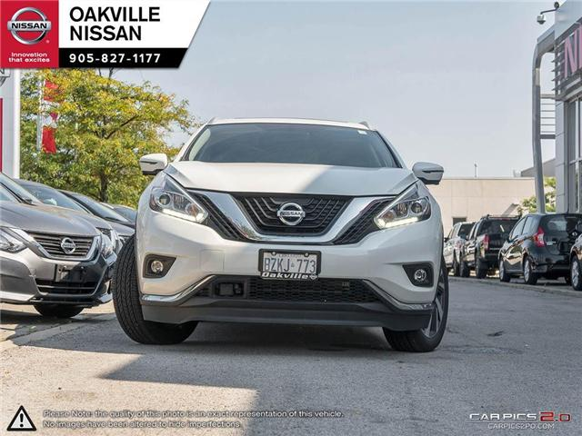 2018 Nissan Murano Platinum (Stk: N18149) in Oakville - Image 2 of 21