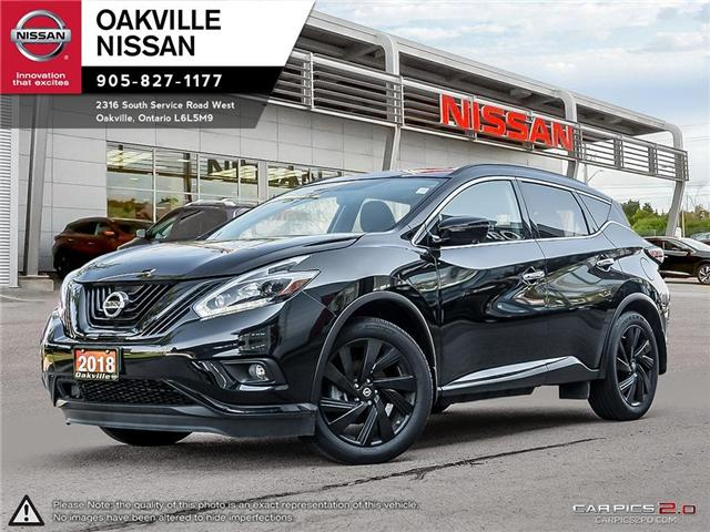 2018 Nissan Murano Midnight Edition (Stk: N18189) in Oakville - Image 1 of 20