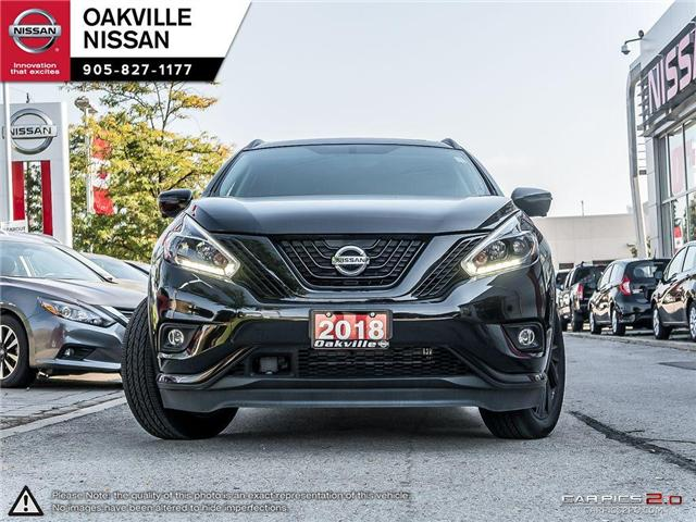 2018 Nissan Murano Midnight Edition (Stk: N18189) in Oakville - Image 2 of 20