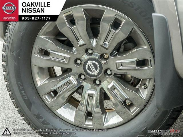2018 Nissan Titan Platinum (Stk: N18237) in Oakville - Image 6 of 20