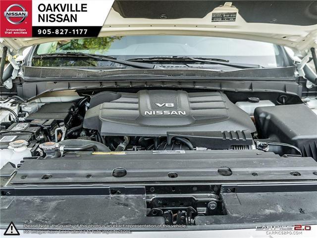 2018 Nissan Titan Platinum (Stk: N18237) in Oakville - Image 8 of 20