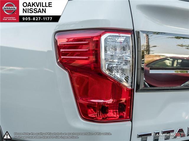 2018 Nissan Titan Platinum (Stk: N18237) in Oakville - Image 11 of 20