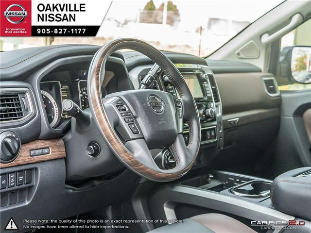 2018 Nissan Titan Platinum (Stk: N18237) in Oakville - Image 12 of 20