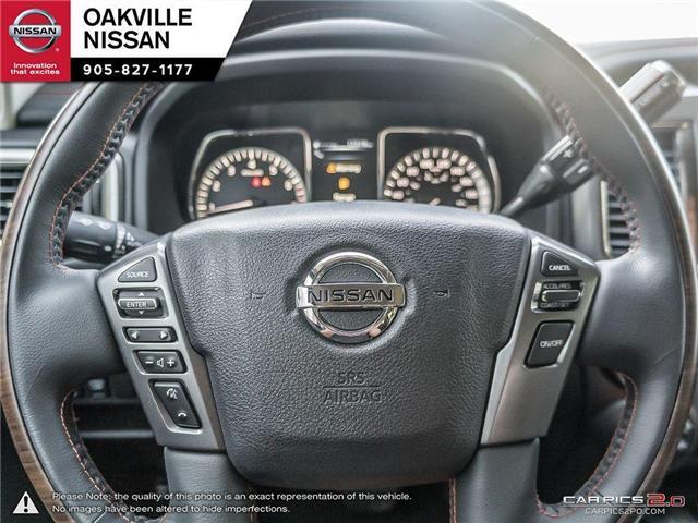 2018 Nissan Titan Platinum (Stk: N18237) in Oakville - Image 13 of 20