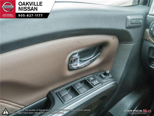 2018 Nissan Titan Platinum (Stk: N18237) in Oakville - Image 14 of 20