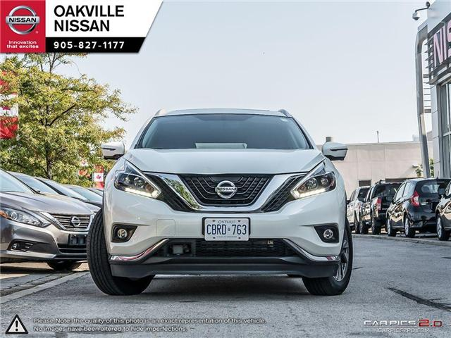 2018 Nissan Murano SL (Stk: N18192T) in Oakville - Image 2 of 21
