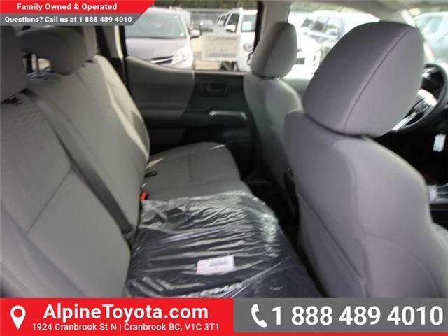 2018 Toyota Tacoma SR5 (Stk: X037472) in Cranbrook - Image 12 of 17