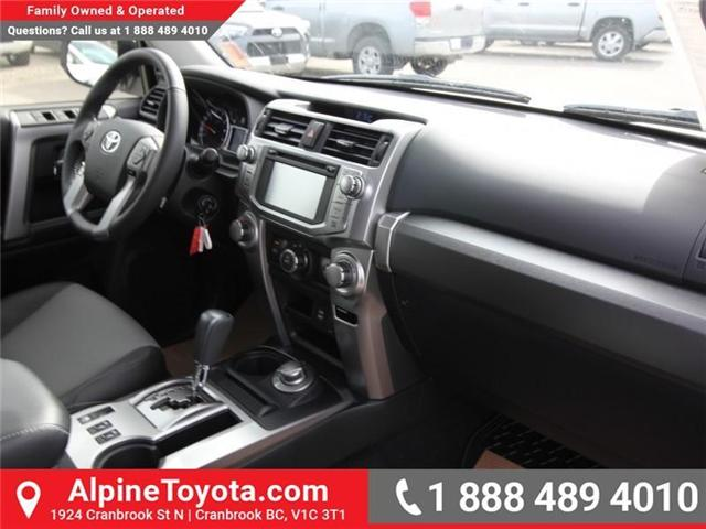 2018 Toyota 4Runner SR5 (Stk: 5609330) in Cranbrook - Image 11 of 18