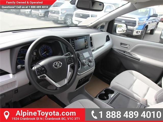 2019 Toyota Sienna LE 7-Passenger (Stk: S210913) in Cranbrook - Image 9 of 17