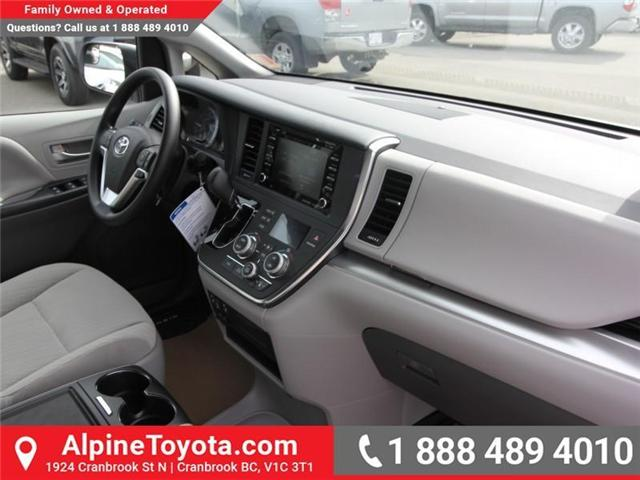 2019 Toyota Sienna LE 7-Passenger (Stk: S210913) in Cranbrook - Image 11 of 17