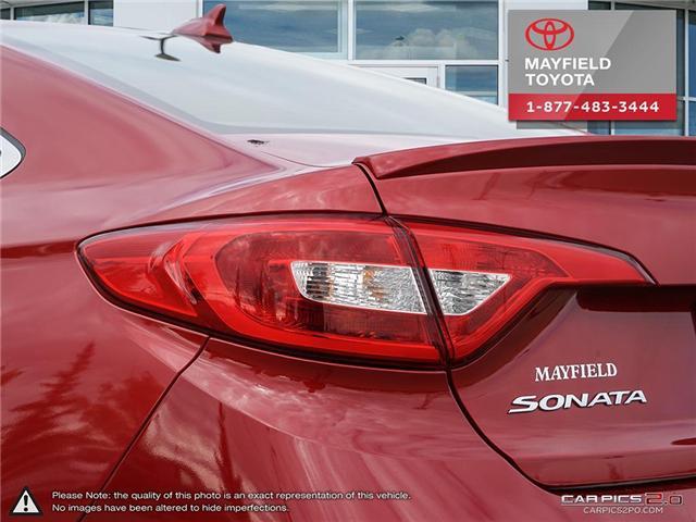 2017 Hyundai Sonata GL (Stk: 184214) in Edmonton - Image 11 of 20