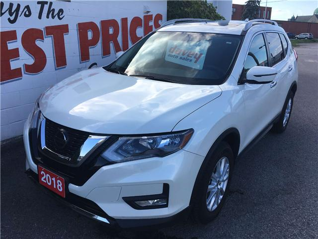 2018 Nissan Rogue SV (Stk: 18-595) in Oshawa - Image 1 of 16