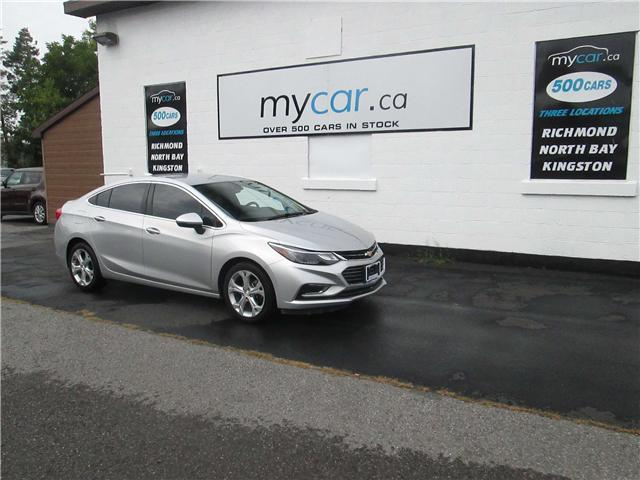 2017 Chevrolet Cruze Premier Auto (Stk: 181221) in Richmond - Image 1 of 13