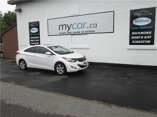 2013 Hyundai Elantra GLS (Stk: 181363) in Richmond - Image 2 of 14