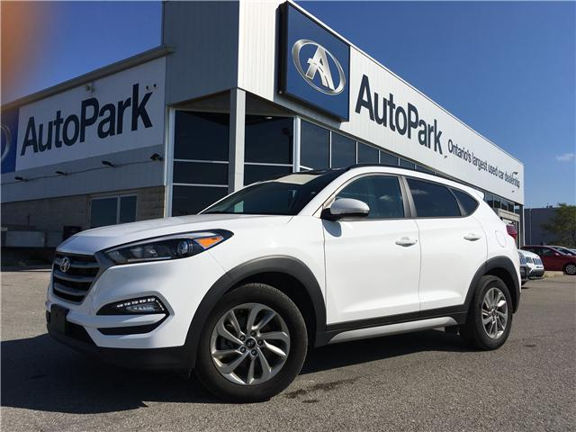 2017 Hyundai Tucson Premium (Stk: 17-60664RJB) in Barrie - Image 1 of 27